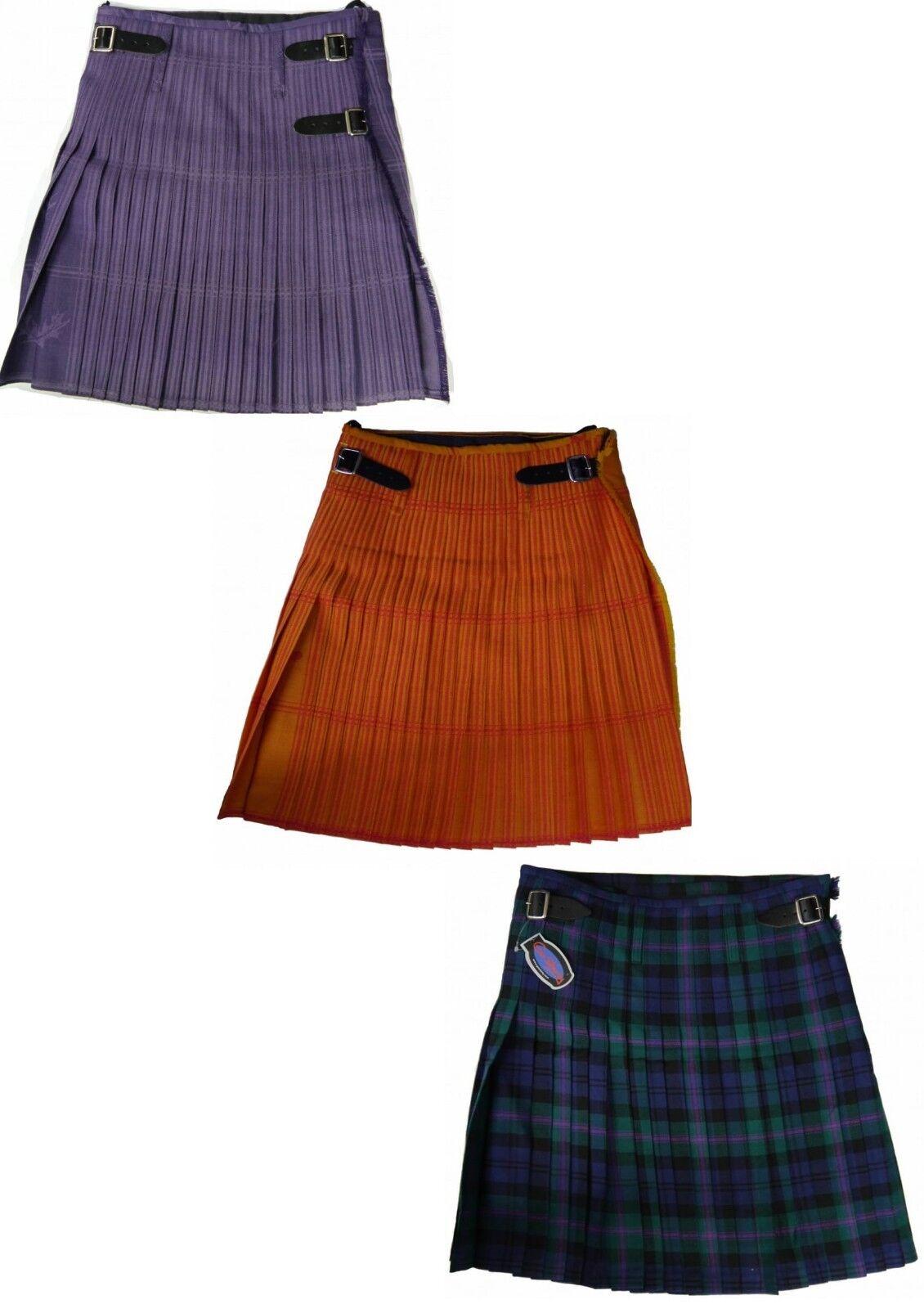 Mens Scottish Kilt 100% New Wool