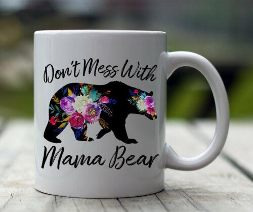 Mamma Bear  Mug for Mom  11oz or 15 oz Coffee Mug Mom Life Baby Shower Gift