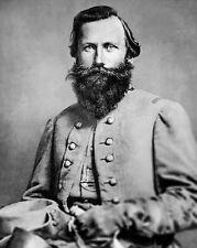 US Confederate General JAMES JEB STUART Glossy 8x10 Photo Civil War Print Poster