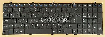 For Clevo W370ST W370ET W370SS W350ST Keyboard Russian NO BACKLIT /& Frame