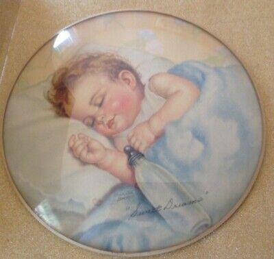 Baby Asleep in High Chair Charlotte Becker