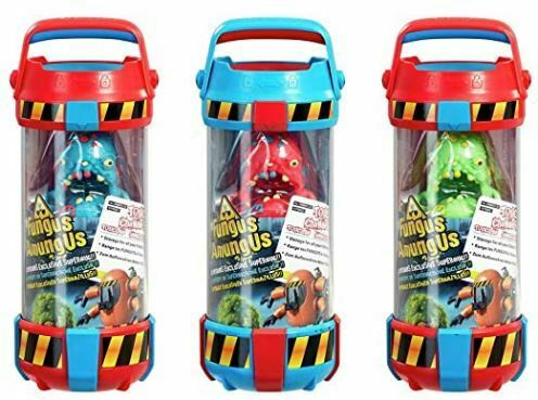 3 x FUNGO amungus tossici Storage Camera con esclusiva superbug giocattolo figura