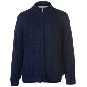 Kangol-Cable-Lined-Funnel-Cardigan-2XL-Navy-TD083-MM-12