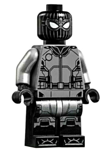 NEW LEGO STEALTH SPIDER-MAN MINIFIG figure minifigure 76128 far from home black