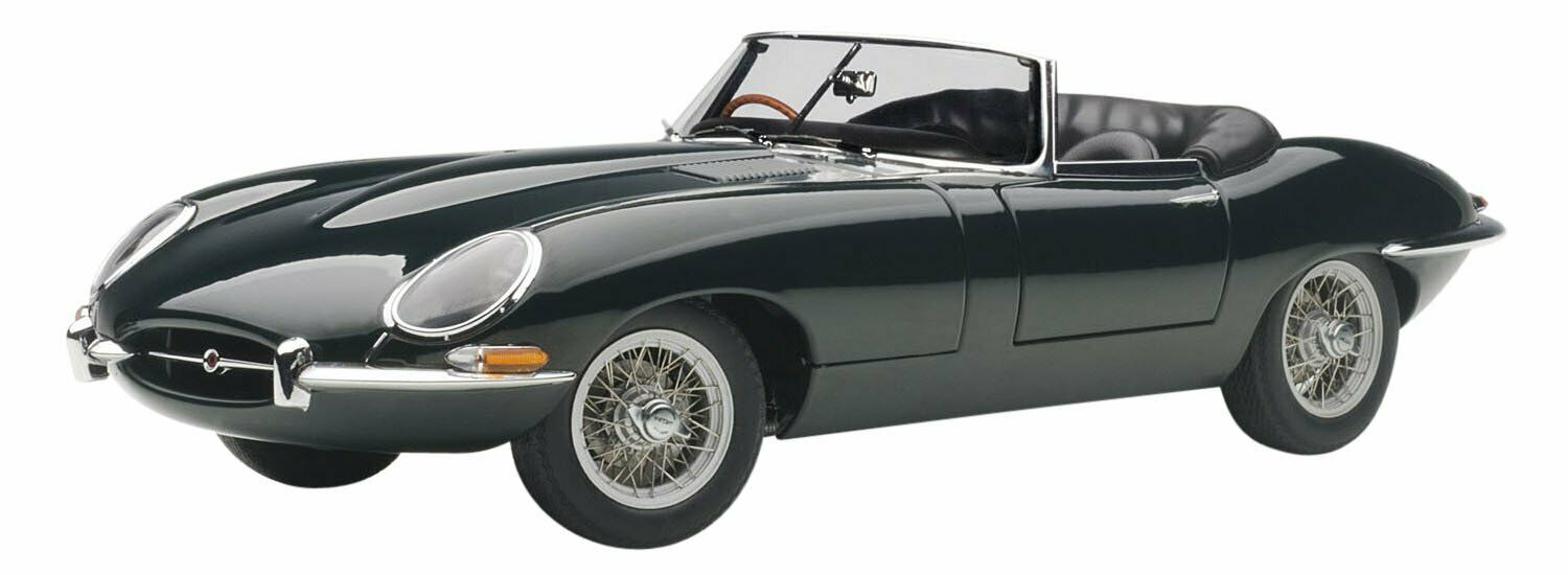 AUTOart AUTOart AUTOart 1 18 Jaguar E type coupe series I 3.8 (green) model cars NEW from Japan 9c9