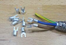 Gabelschuh für Netzstecker M3,7 4-6²  10St.