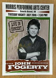 john fogerty south bend in 2004 signed concert poster autograph ccr ebay. Black Bedroom Furniture Sets. Home Design Ideas