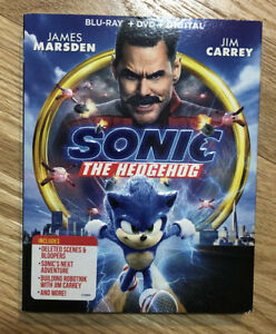 sonic the hedgehog 2020 dvd