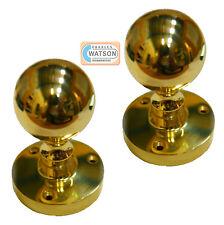 CARLISLE BRASS M48 Polished Brass Mortice Ball Knob Handle Door Cupboard