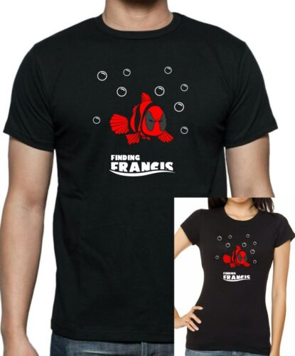 available up to 5 X Large Finding Francis T-shirt . DEADPOOL