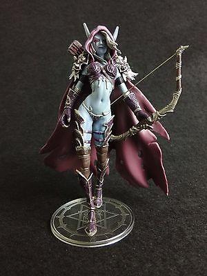 World of Warcraft Forsaken Queen Sylvanas Windrunner Figure Figurine (No Box)