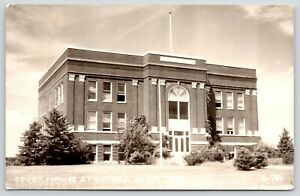 Stanford-Montana-Judith-Basin-County-Courthouse-Library-Inside-1946-RPPC