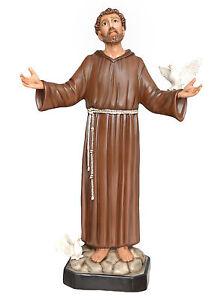 Saint-Francisco-de-Assisi-fibra-de-vidrio-statue-cm-130
