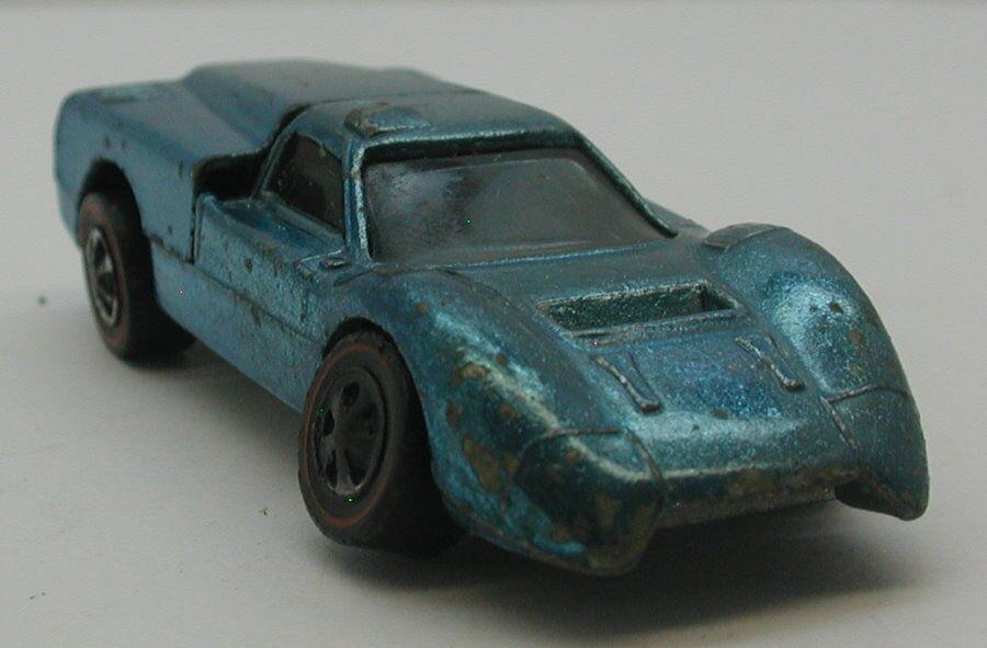 rossoline Hotwheels Luz blu 1968 Ford J coche oc16976