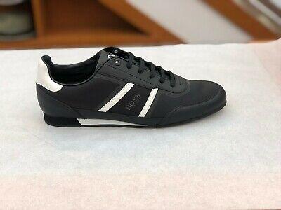 BOSS HUGO BOSS Men/'s Sneakers Lighter Lowp NYTH In 001 Black