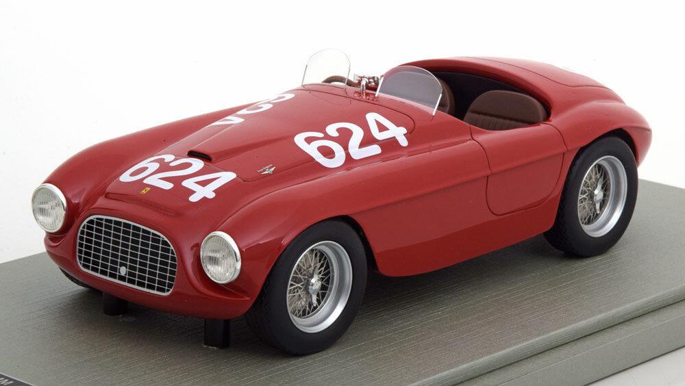 TECNOMODEL FERRARI 166 MM Winner Mille Miglia 1949 Biondetti Salani 1 18 Limited Edition 90