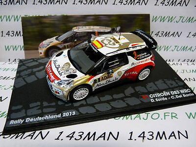 voiture 1/43 IXO Altaya Rallye : CITROËN DS3 WRC Allemagne 2013 SORDO Del Barrio