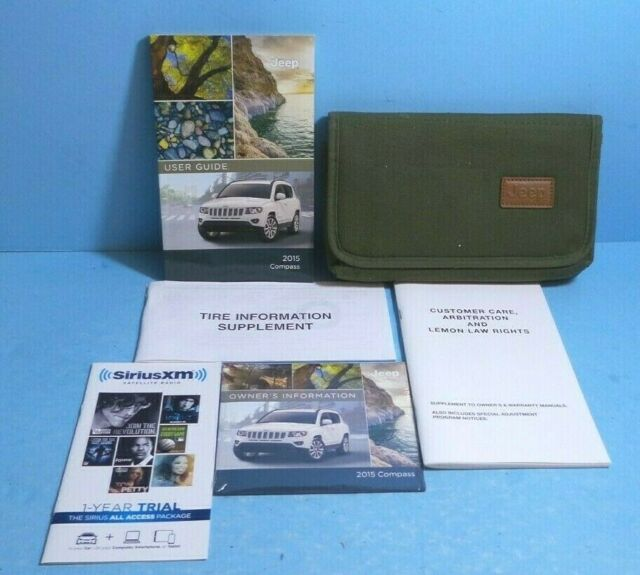 15 2015 Jeep Compass Owners Manual User Guide Manual Guide