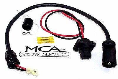 "SNOWEX POWER CABLE 26 1//2/"" LONG D6162 75627"