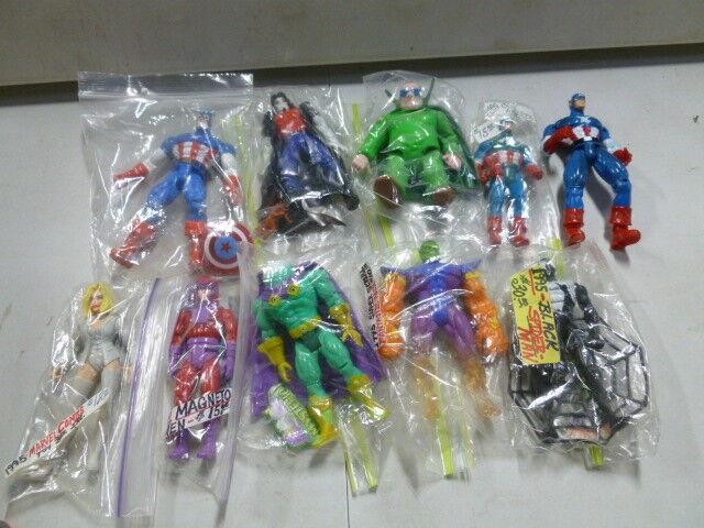 Viele 10 marvel actionfiguren w captain america, gift