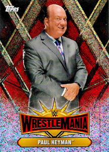 Topps-WWE-CHAMPIONS-WRESTLEMANIA-2019-RED-FOIL-CARDS-WM1-TO-WM50-CHOOSE
