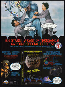 MYSTERY SCIENCE THEATER 3000__Orig. 1996 Trade AD_MST3K promo__This Island Earth