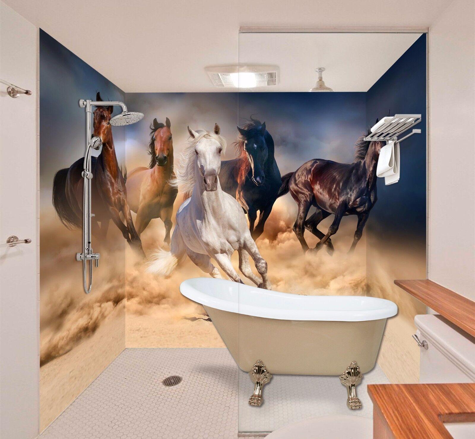 3D Fine Horse  797  WallPaper Bathroom Print Decal Wall Deco AJ WALLPAPER AU