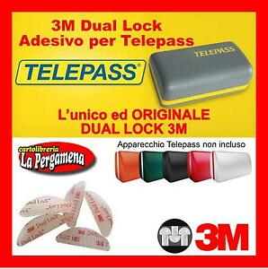 2-pz-Adesivi-Telepass-Dual-Lock-3M-per-Telepass-Navigatori-cellulari-TLC-GO-PRO