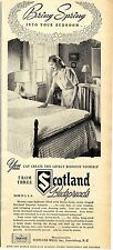 Scotland Mills Inc. N.C. * Bedspreads Made in U.S.A. * US-ADVERTISING 1947