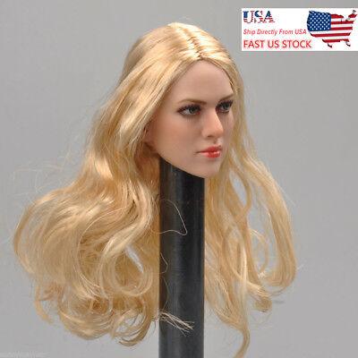 "1//6 KIMI TOYS KT004 Female Head Sculpt F 12/"" Figure TBLeague Body"