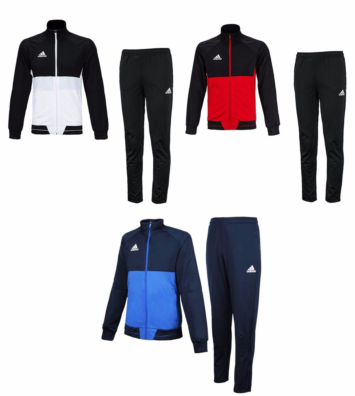 Adidas Tiro 17 PES Suit Set BQ2598 Fleece Soccer sport Training Jacket Pants