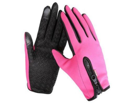 Waterproof Men/'s Women Winter Bicycle Ski Warm Motorcycle Touch Driving Gloves K