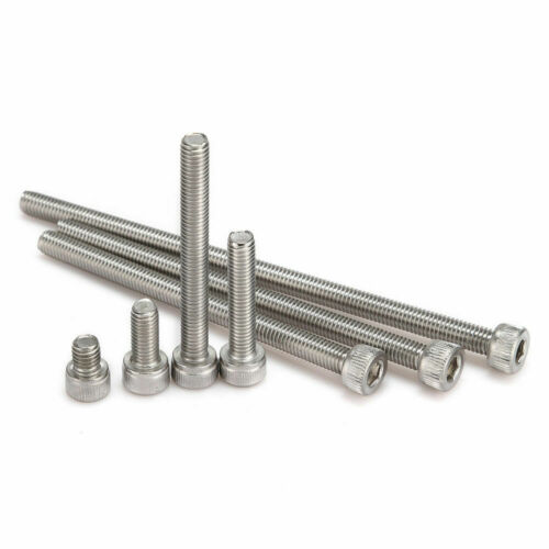 10 Pcs M2 M5 Stainless Steel Screw Hex Head  Bolt Socket Cap Cylindrical Supply