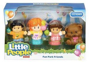 Fisher-Price-Little-People-tocar-Conjunto-Novo-Brinquedo-Crianca-Pre-Escola-Divertida-Park-Bonecos