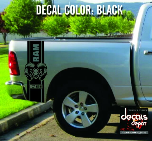 Dodge Ram Truck Bed For Sale >> Dodge Ram 1500 2500 3500 Truck Bed Box Graphic Stripes Hemi Decal Sticker