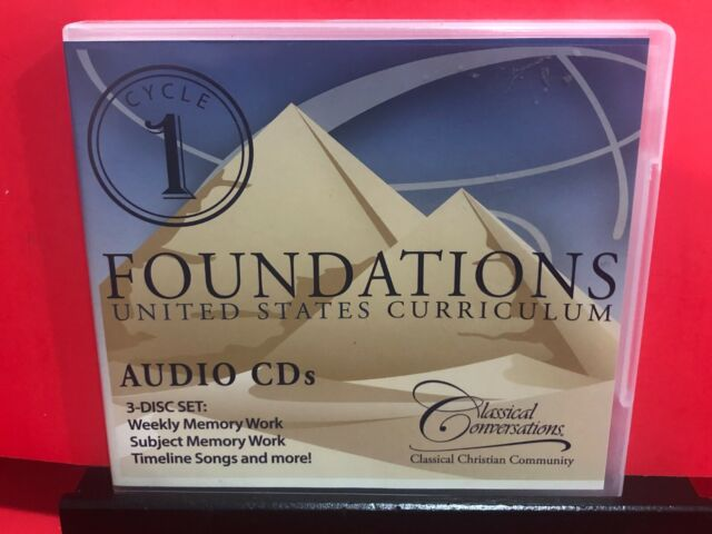 Classical Conversations Foundations Cycle 1 Audio Cd 5th Edition 3 Disc Set For Sale Online Ebay