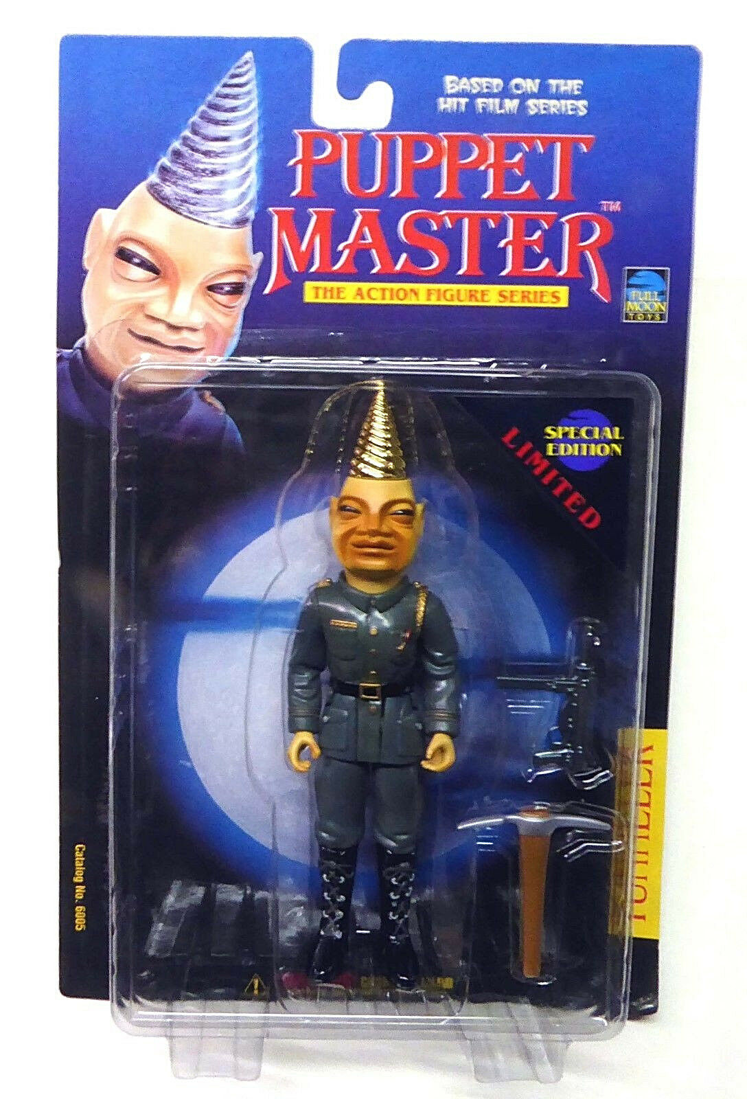 Puppet Master Tunneler Special Limited Edition Gold Full moon Toys   6005 1997