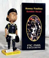 Ronny Paulino Autographed Signed PITTSBURGH PIRATES 2007 bobble head with Box 26