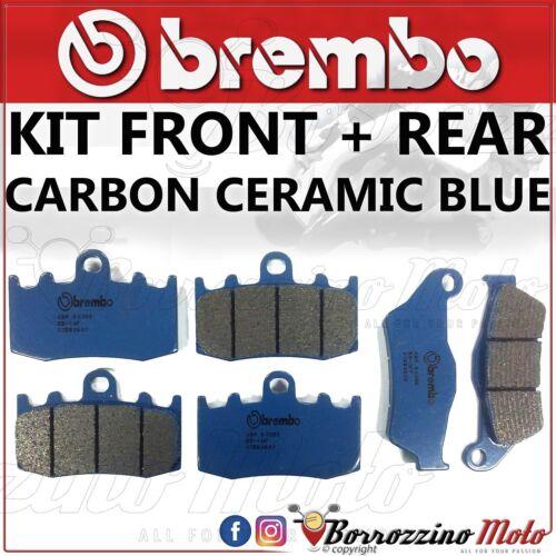 REAR BMW K 1200 S ABS 2004-2007 BRAKE PADS KIT BREMBO CARBON CERAMIC FRONT