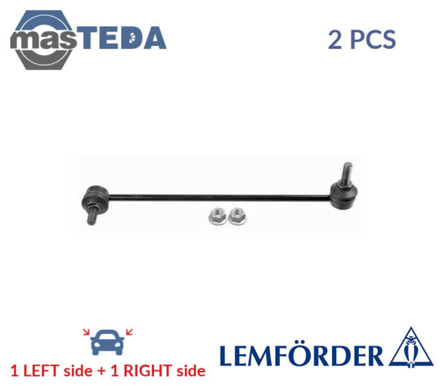 2 x FOR FORD FIESTA FUSION 01-12 FRONT PAIR STABILISER ANTI ROLL BAR DROP LINK