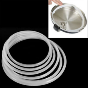 5-Sizes-Replacement-Silicone-Rubber-Clear-Gasket-Home-Pressure-Cooker-Seal-Ring