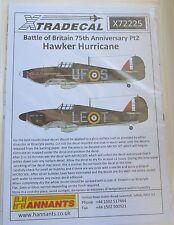 Xtradecal 1/72 X72225 Hurricane Mk I 'Battle of Britain' set 2 Decals