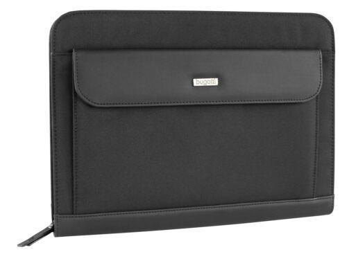 Bugatti Ufficio RV-Schreibmappe mit Ringbuchleiste schwarz Aktenmappe