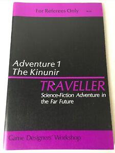 GDW-Classic-TRAVELLER-RPG-Adventure-1-The-Kinunir-Science-Fiction-Adventure-1979