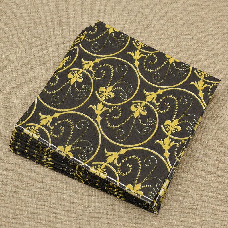 20pcs bee paper napkins serviettes wedding party birthday decor supplies  SP