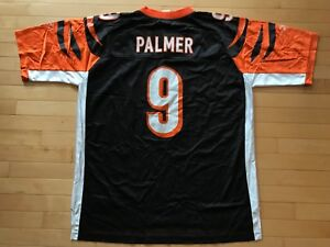 1f451608a Image is loading 9-Carson-Palmer-Cincinnati-Bengals-NFL-Reebok-Jersey-
