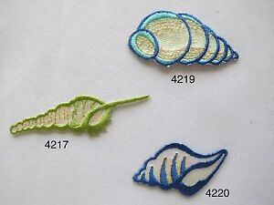 4217-4219-4210-Ocean-Conch-Embroidery-Iron-On-Applique-Patch