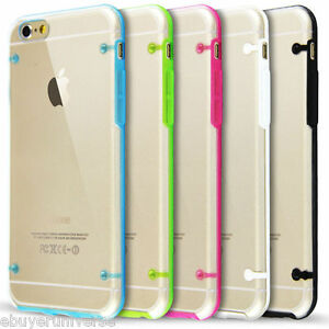 Clear-Hard-Back-Silicone-TPU-Bumper-Cover-Case-For-New-Apple-iPhone-6