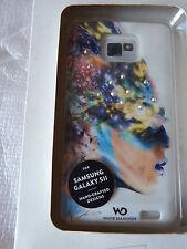 White Diamonds Sash Case for Samsung Galaxy S2 - white colourful headHama 108687