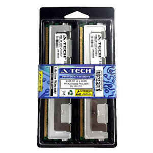 4GB-KIT-2-x-2GB-HP-Compaq-ProLiant-DL380-G5-DL580-ML350-ML370-Ram-Memory